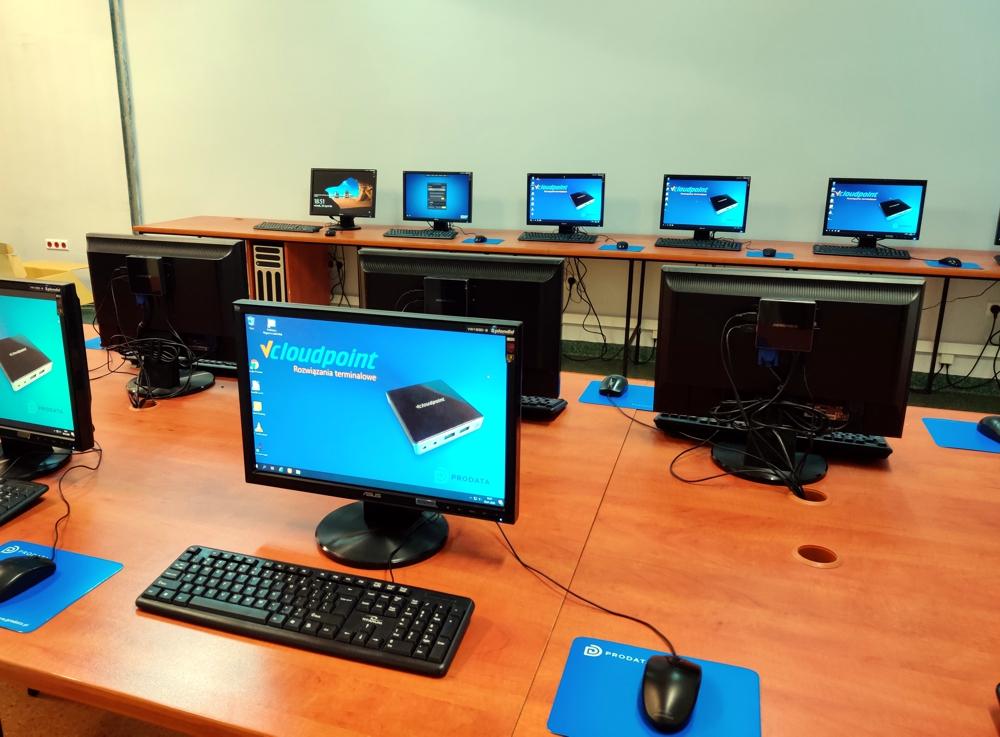 Pracownia terminalowa - Szkoła Podstawowa w Gródku