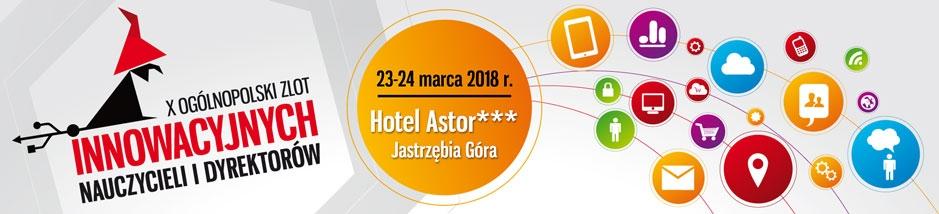 X Zlot Innowacyjnych Nauczycieli i Dyrektorów - Jastrzębia Góra - ProData Partnerem Specjalnym