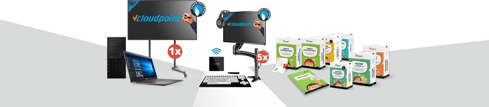 Pracownia terminalowa vCloudPoint dla uczniów ze specjalnymi potrzebami edukacyjnymi