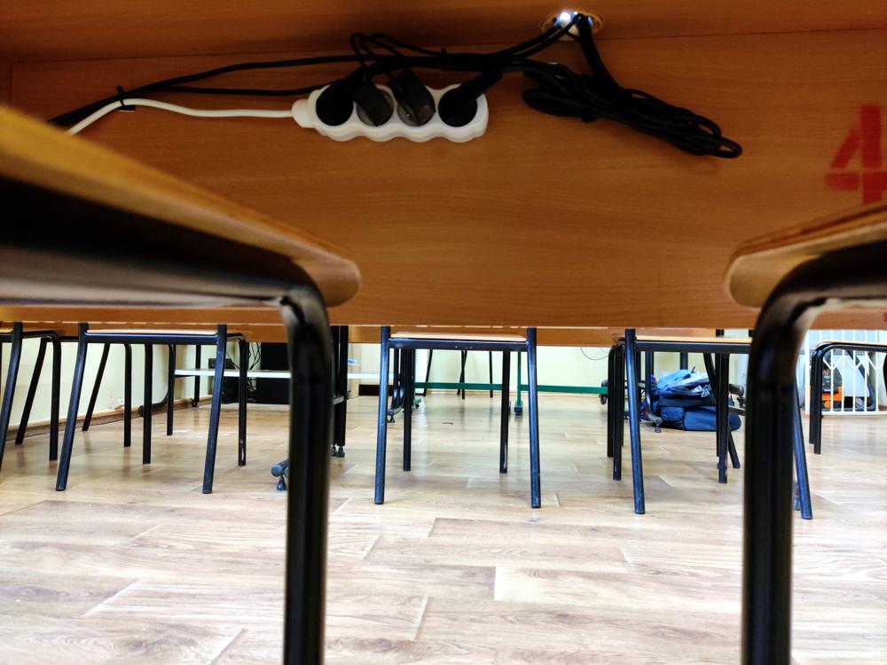 Sieć komputerowa w klasie - szkoła podstawowa Czempiń. Pracownia komputerowa vCloudPoint.