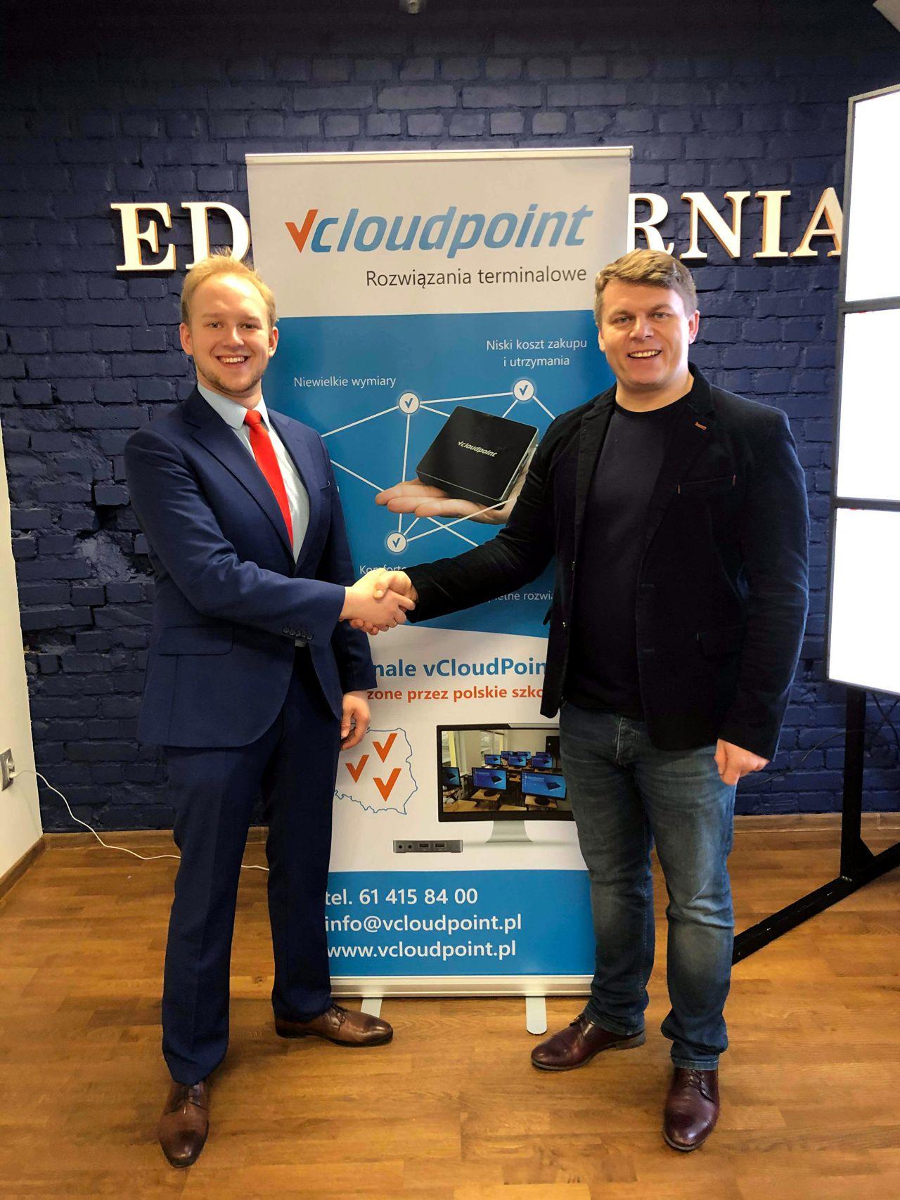 EDUKATORNIA Gdańsk - pracownia terminalowa vCloudPoint