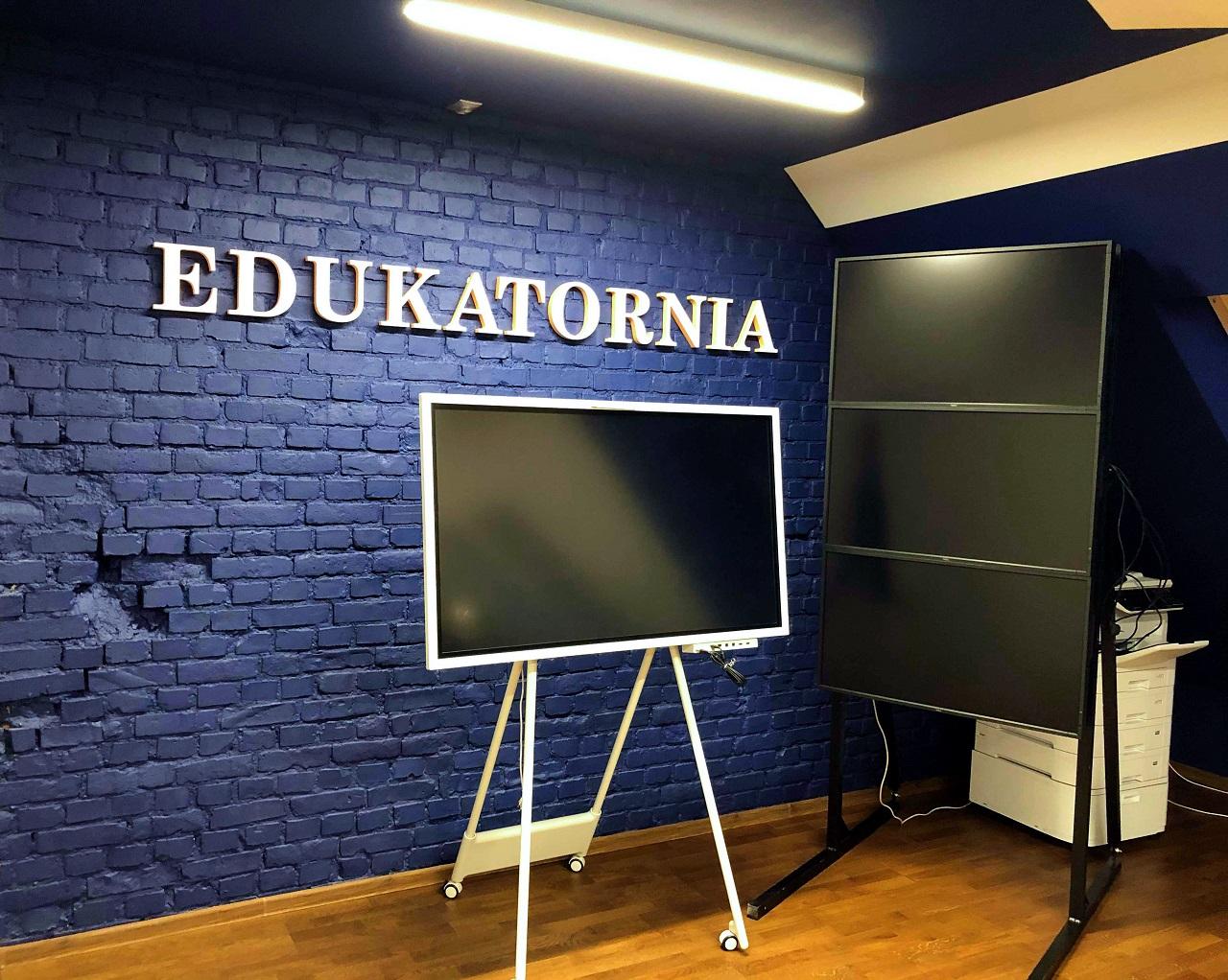 Pracownia terminalowa vCLoudPoint w Gdańskiej EDUKATORNI