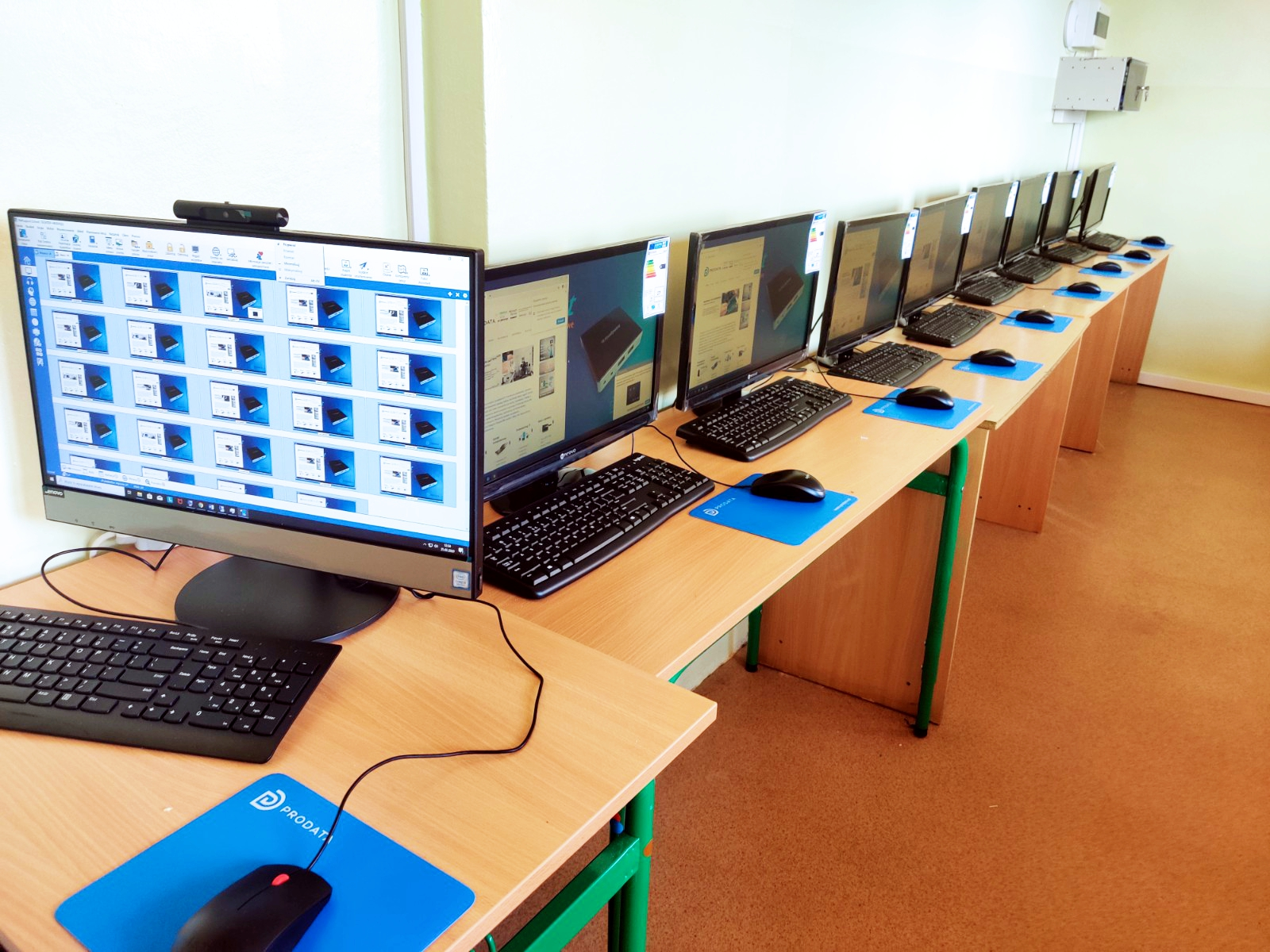 Pracownia terminalowa vCloudPoint w Szkole Podstawowej w Głuchowie