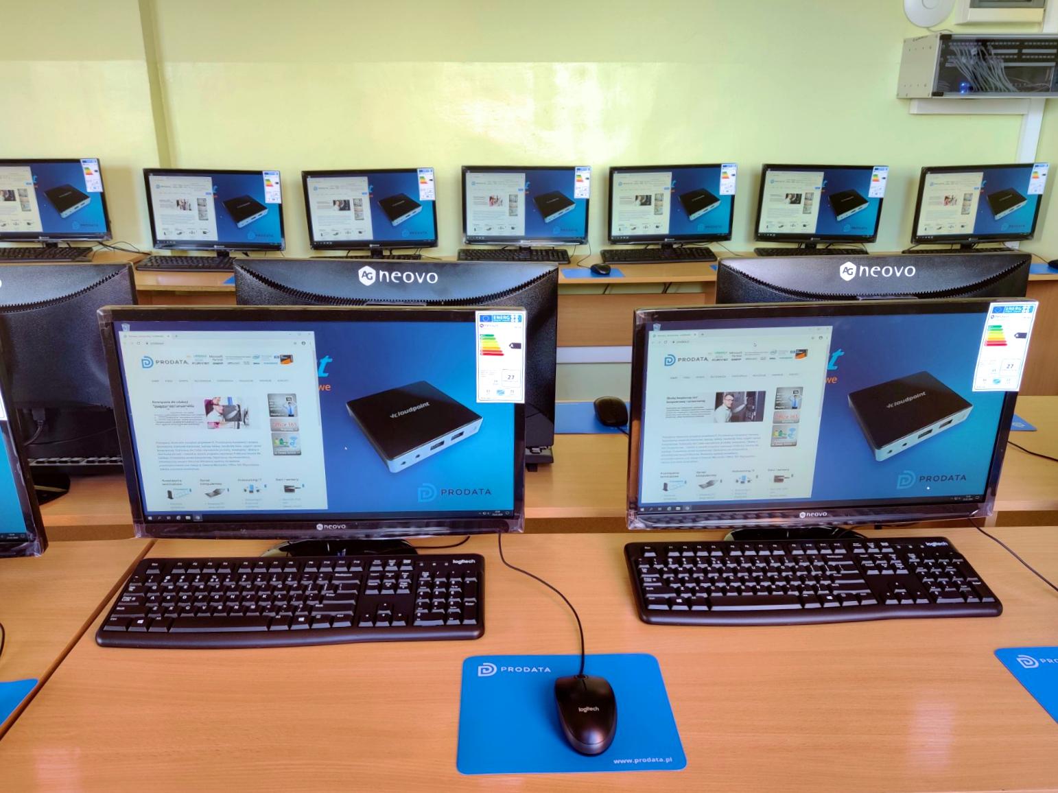 Stanowiska terminalowe vCloudPoint - Szkoła Podstawowa w Głuchowie