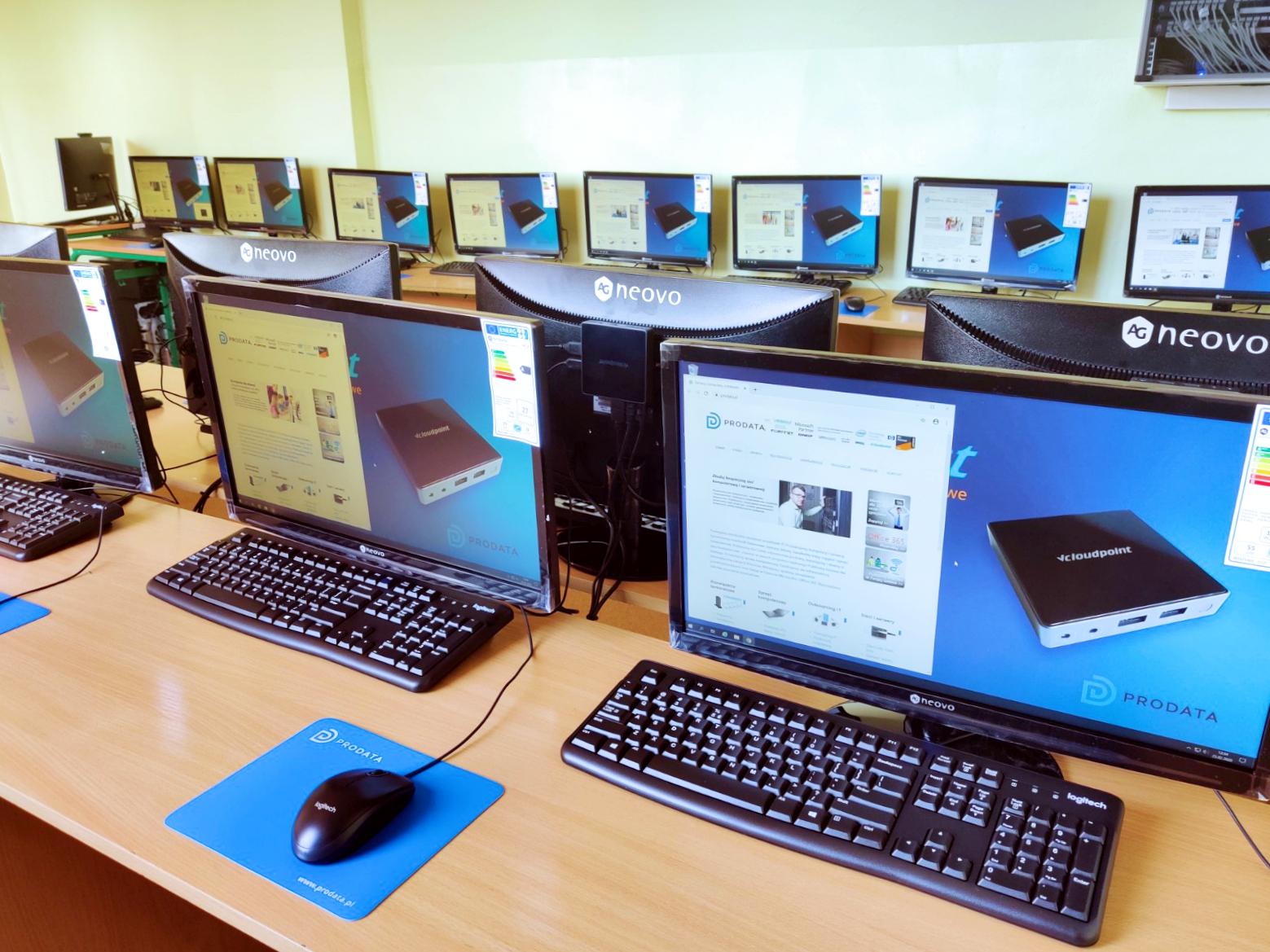 Pracownia terminalowa vCloudPoint w Głuchowie