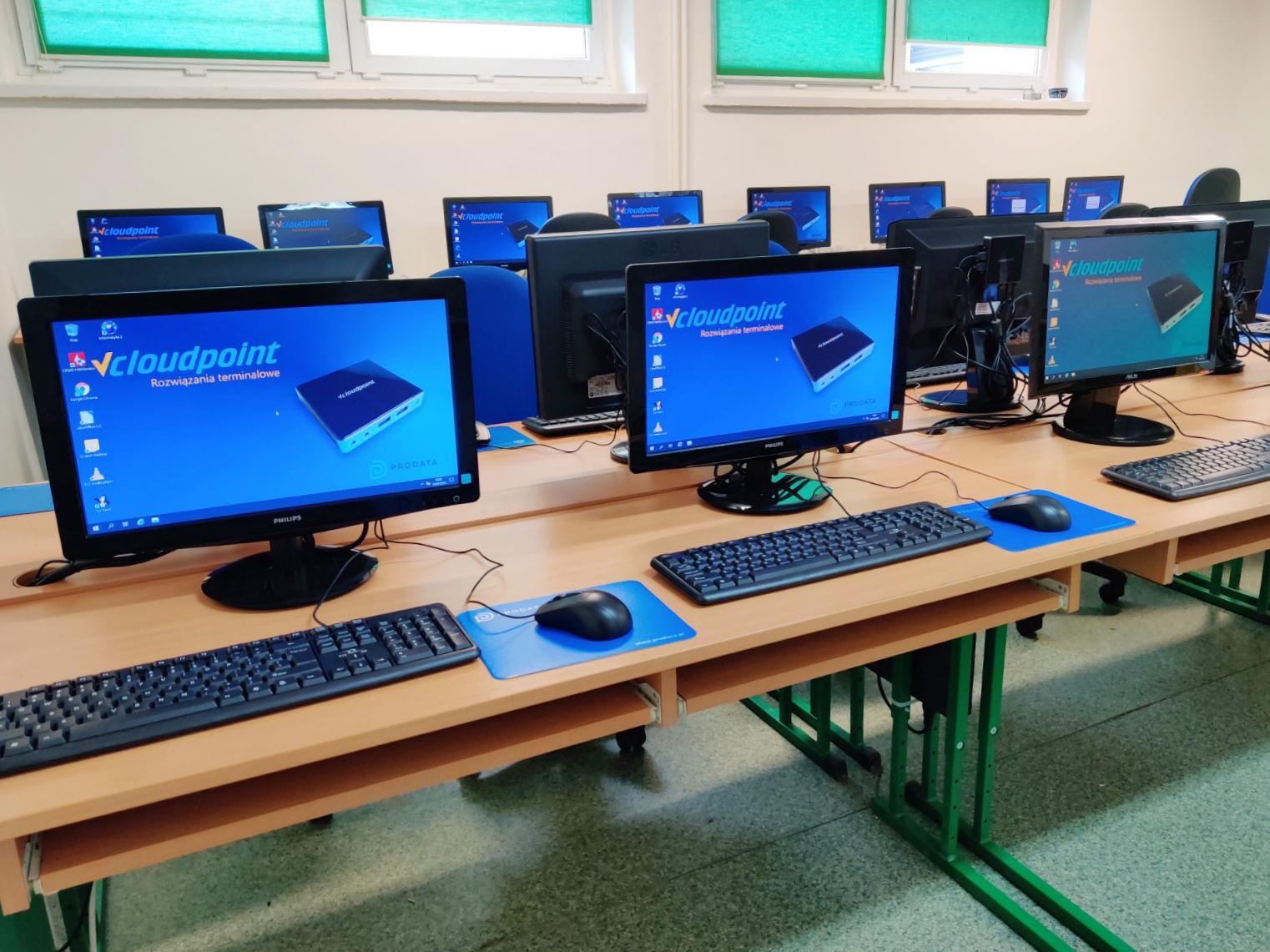 Pracownia terminalowa vCloudPoint w Gostyniu