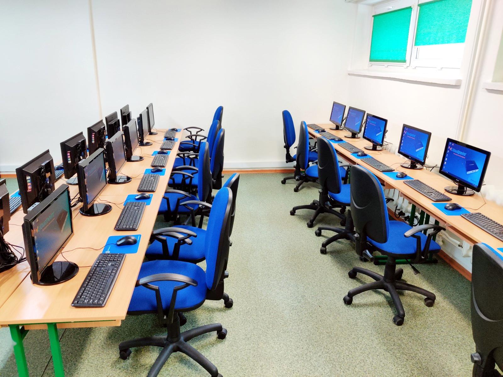 Gostyń - pracownia terminalowa w szkole podstawowej - terminale vCloudPoint