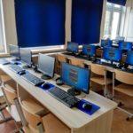 Nowoczesna sala lekcyjna w Kamionnej z wykorzystaniem terminalu komputerowego