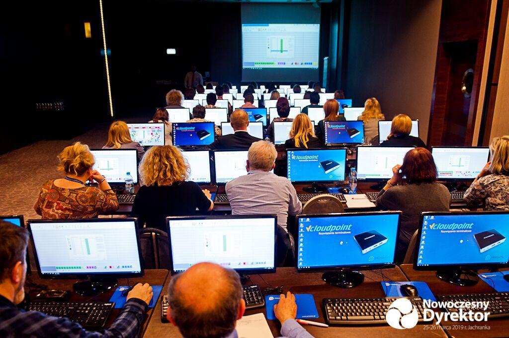Terminale komputerowe vCloudPoint - na konferencji edukacyjnej Librus 2019 Nowoczesny Dyrektor