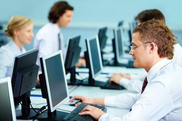 terminale komputerowe vCloudPoint w małych i średnich firmach - firmowa sieć komputerowa