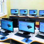 Pracownie terminalowe w szkole podstawowej w Pleszewie
