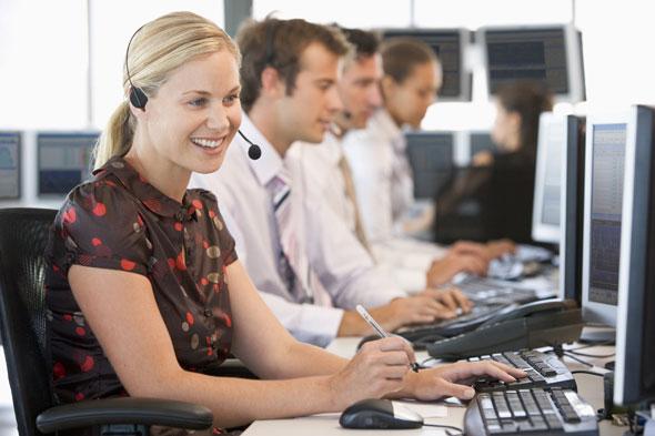 terminale vCloudPoint w usługach - call center, biura obsługi klientów, wirtualne stanowiska pracy