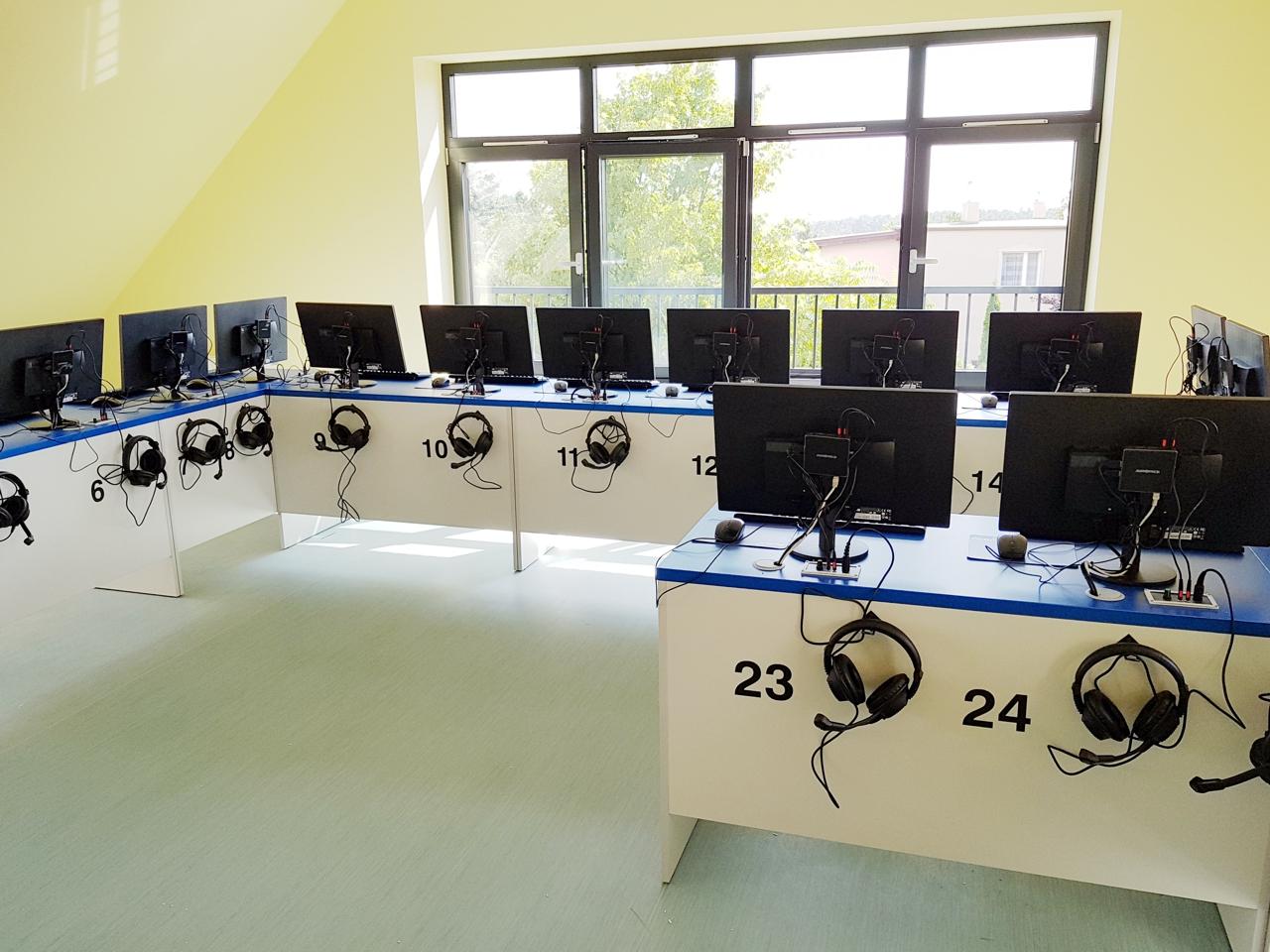 Pracownia terminalowa vCloudPoint w szkole w Biskupicach