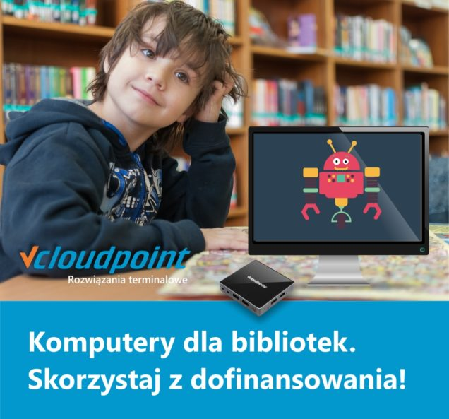 Kraszewski. Komputery dla bibliotek. Terminale w bibliotekach.