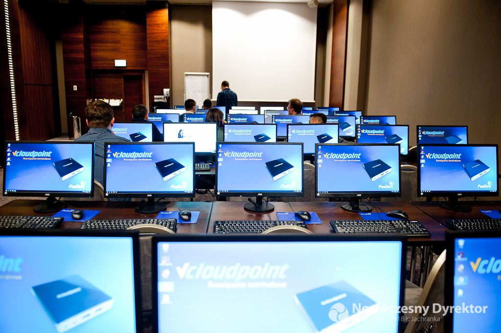 Dystrybutor vCloudPoint Partnerem Technologicznym konferencji Nowoczesny Dyrektor
