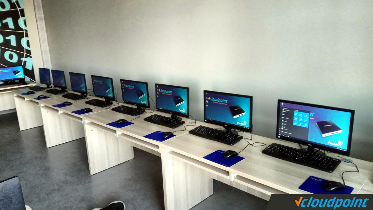 terminale vCloudPoint - szkolna pracownia informatyczna