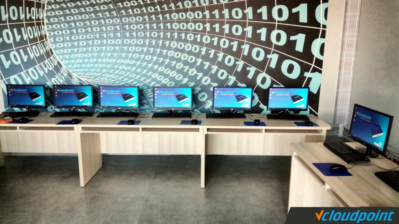 Pracownia terminalowa vCloudPoint w Szkole Podstawowe w Dobrzykowicach
