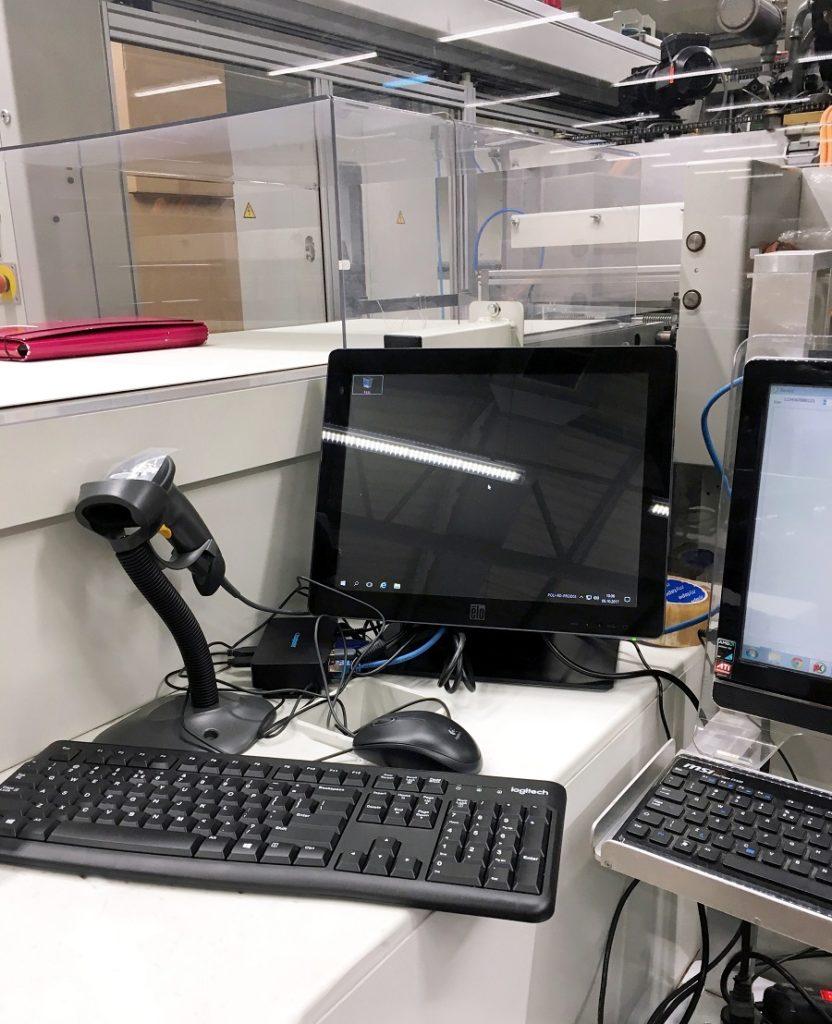 Terminale vCloudPoint w firmie produkcyjnej