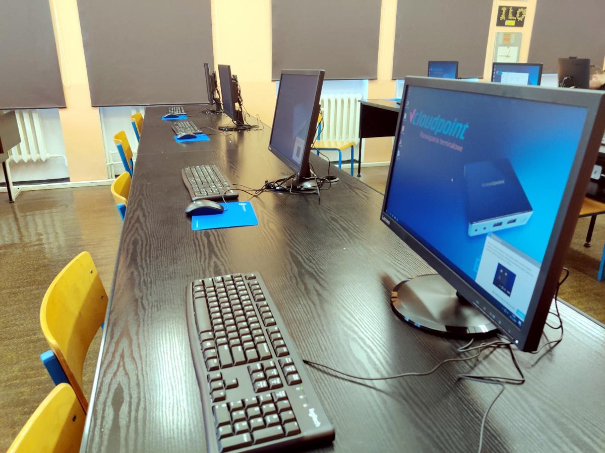 Komputerowa pracownia terminalowa w Wągrowcu